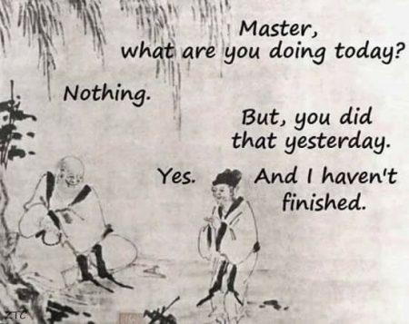 Explaining wisdom of Do Nothing