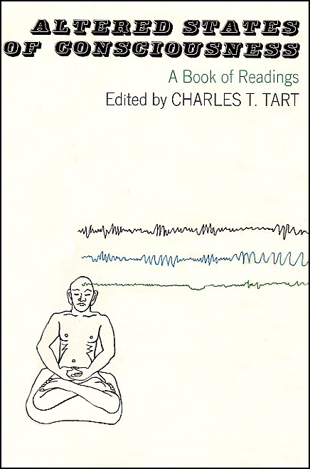 Book cover of Altered States of Consciousness by Charles Tart